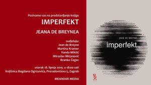 Promocija knjige Imperfekt Jeana de Breynea