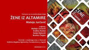 Promocija knjige Žene iz Altamire Mateje Jurčević