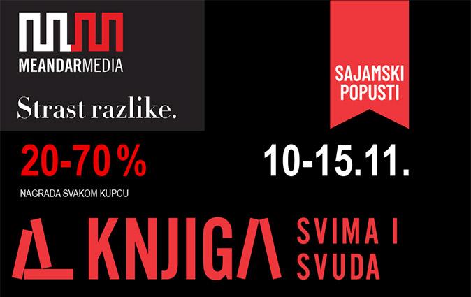 KNJIGA SVIMA I SVUDA 10.-15.11.2020.